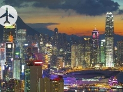 Flight to Hong Kong: $160 per pax for 2 Way Cathay Pacific Flight with Check-In-Baggage