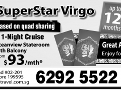 Chinese New Year Special SuperStar Virgo 1-Night Cruise