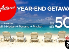 Year-end getaways from just SGD50!