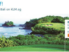 Fly & Golf! Exclusive offers to Bali on KLM.sg
