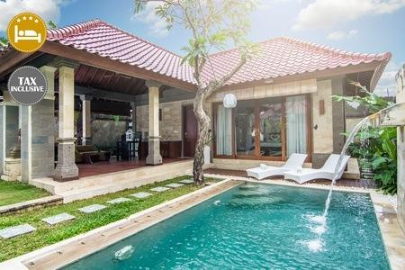 Cheap hotel accommodation deals bali 4 private pool for Cheap hotels in bali