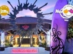 Bali: $298 per pax for 4D3N 4-Star Hard Rock Hotel w/ Airport Transfer (Worth $588)