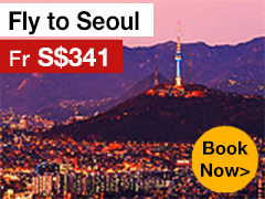 Round-trip to Seoul from S$341* ALL IN