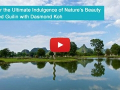 Discover Club Med Guilin with Dasmond Koh, Mediacorp Artiste