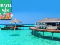 Maldives: $1059 per pax for 4D3N 4-Star Paradise Island Resort Bungalow Stay + SQ Flight + Speedboat Transfer (Worth $2888)