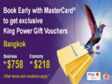 Book Early and Save more with Thai Airways and MasterCard