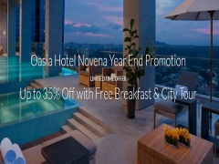 Year End Offer at Hotel Novena with Up to 35% Savings via Far East Hospitality