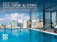 Stand a Chance to WIN 3D2N Staycation in Bay Hotel Ho Chi Minh