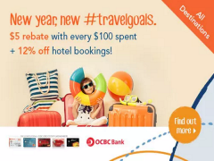 Take 12% Off Hotel Bookings and More with Zuji and OCBC Card