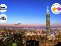 Taipei: $279 per pax for 4D3N Hotel Stay with Breakfast, Airport Transfer & City Tour