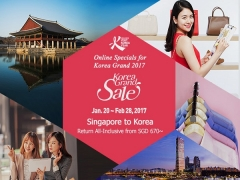 Korea Grand Sale | Fly on Asiana Airlines from SGD670 to Korea