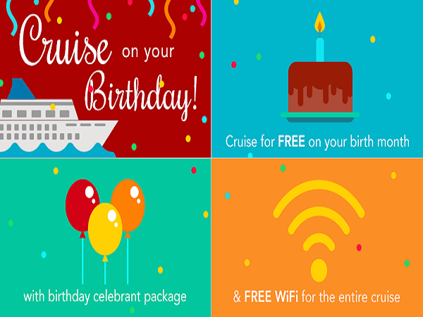 Cruise Deals Cruise On For Free On Your Birthday With
