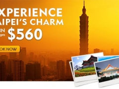 Experience Taipei's Charm - 4D3N Packages from $560