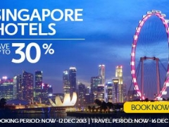 Singapore Hotel Sale - Save up to 30% on Singapore Hotels!