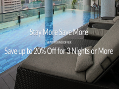 Stay More and Save Up to 20% Off Hotel Rate via Far East Hospitality