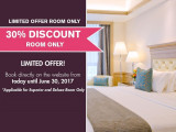 Limited Time Offer - Save 30% Off Room Rate in The Royale Bintang Penang