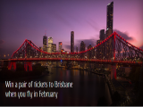 Book to any Destination and WIN Flights to Brisbane with Emirates
