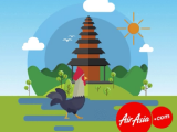 WIN Flights to Bali, Indonesia with AirAsia's CNY Special Contestbal