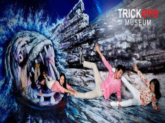Get 20% Discount on Admission Tickets in Trick Eye Museum with PAssion Card