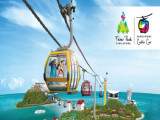 1-for-1 Adult Singapore Cable Car Sky Pass Round Trip with DBS PAssion Card