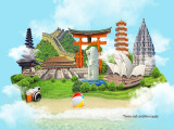 Fly to More Destinations with Garuda Indonesia from SGD185
