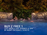 Buy 2 Free 1 Promotion in Sunway Lost World Hot Spring & Spa