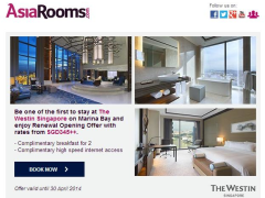 Stay at the Newly Opened The Westin Singapore, Enjoy Renewal Opening Offer from SGD345++