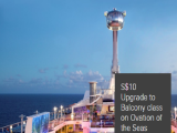 Upgrade your Cruise Experience with Cabin Upgrade from SGD10 with HSBC in Royal Caribbean Cruises