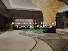 Rendezvous in the City Staycation Package with Up to 40% Off Room Rate via Far East Hospitality