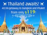 Explore Bangkok and Phuket with hutchgo from SGD119