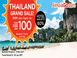 Travel to Thailand in 3D2N+Flight from SGD100 with AirAsiaGo