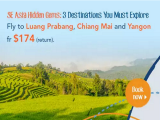 Explore the Hidden Gems of Southeast Asia in 4D3N with Flight from SGD259 via Zuji