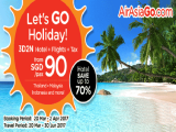 Let's GO Holiday with AirAsiaGO Travel Package from SGD90