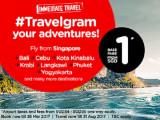 Immediate Travel Around Asia from SGD1 via AirAsia