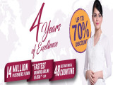 Up to 70% Discount   Malindo Air 4th Years of Excellence Special