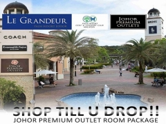 Shop Till You Drop with Room Package from RM298 at Le Grandeur Palm Resort Johor