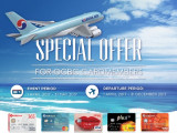 Enjoy Up to 20% Off Flight on Korean Air with OCBC Card