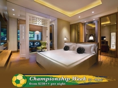 Championship Week Staycation from SGD238 in Hotel Fort Canning