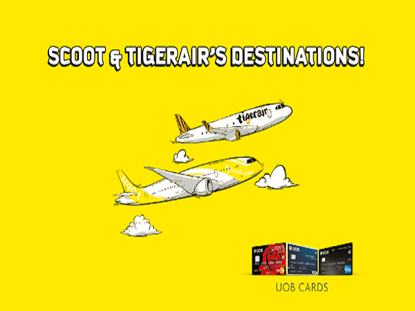 Credit Card Deals Scoot To Your Favourite Destinations