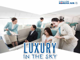 Business Class Advance Purchase to Korea & Americas with Korean Air