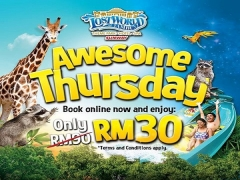 Awesome Thursday Getaway in Sunway Lost World of Tambun