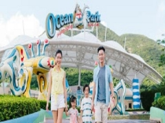 12% Savings on Daytime Admission Ticket in Ocean Park Hong Kong with Maybank