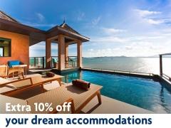 Up to 40% off + additional 10% off Hotel Stays Worldwide with UOB Cards