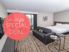 4 Nights Special Deal - Save 30% in Swiss-Belhotel Brisbane!
