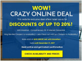 WoW Crazy DeaL Online with 20% Off Room Rate in The Royale Bintang Resort & Spa Seremban