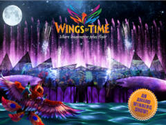 Wings of Time with Singapore Cable Car and NTUC Card at 50% Off