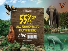 NTUC May Day Promotion in Wildlife Reserves Singapore