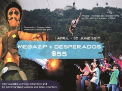 Enjoy the Sentosa 4D AdventureLand Combo Deal from SGD55