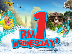 Wednesday Offer in Sunway Lost World Water Park from RM1
