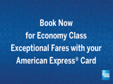 Early Bird and Two-to-Go Flights on Singapore Airlines with American Express from SGD148